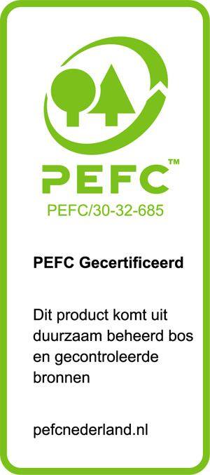 Schuilenga Hout BV heeft ook een PEFC keurmerk